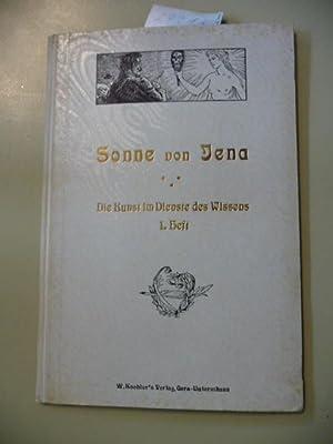 Sonne von Jena (Ernst Haeckel) - (Die Kunst im Dienste des Wissens, 1. Heft): ANONYM