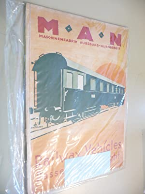 Railway Vehicles. Passenger & Freight. Printed matter M.30: MAN (Hg.)