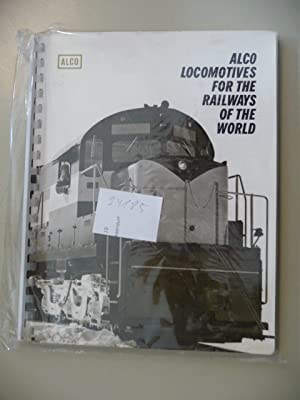 ALCO Locomotives For The Railways Of The World: ANONYM