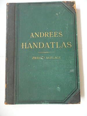Richard Andrees allgemeiner Handatlas in hundertzwanzig Kartenseiten und zwei Ergänzungskarten...