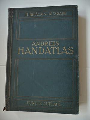 Allgemeiner Handatlas in 139 Haupt und 161 Nebenkarten nebst vollständigem alphabetischen ...