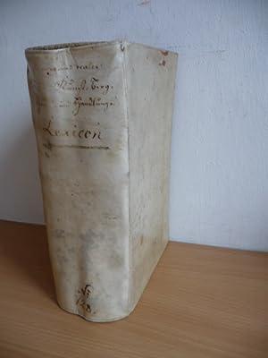 Curieuses und reales Natur-, Kunst-, Berg-, Gewerck- und Handlungs-Lexicon, Darinne nicht nur die ...