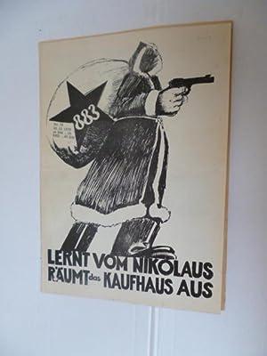 AGIT 883 (linksradikale Kneipenzeitung) - Nr. 73 - 24.12.1970 -- Lernt vom Nikolaus Räumt das ...