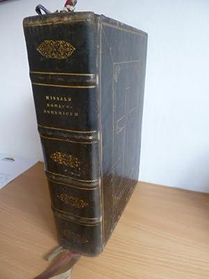 Missale Romano-Bohemicum conformatum, juxta decretum ss.Cocilii Tridentini restitutum, S.Pii V. ...