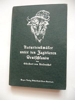 Naturdenkmäler unter den Jagdtieren Deutschlands.: Riesenthal, Eberhard von