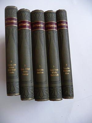 Grillparzers Werke. - Kritisch durchgesehene und erläuterte Ausgabe (Grillparzer) (5 BÜ...