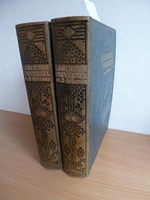La Rousse Universel En 2 Volumes. - Nouveau Dictionnaire Encyclopedique (2 BÜCHER): ANONYM
