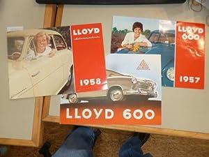 LLoyd 600 1957 / Lloyd Alexander 1958 / Lloyd 600.: Diverse