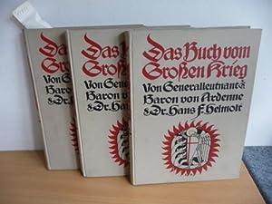 Das Buch von Großen Krieg (3 BÜCHER): Ardenne, Baron von und Dr.Hans F. Helmolt