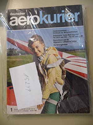 deutscher aerokurier. - Offizielles Organ Des Deutschen Aero Club E.V. Jahrgang 1964 (12 HEFTE): ...