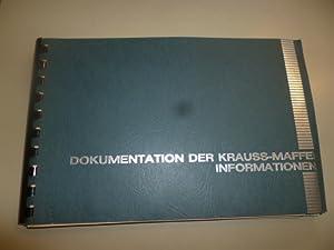 Dokumentation der Krauss-Maffei Informationen.: ANONYM