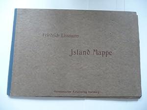 Islandmappe. (Island-Mappe) - Mit einer Einführung von Mia Lenz.: Lißmann, Friedrich