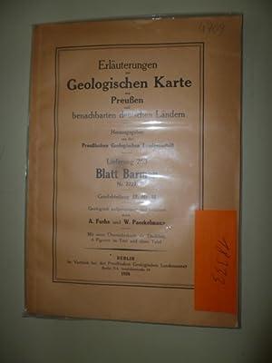 Erläuterungen zur Geologischen Karte von Preußen und benachbarten deutschen Ländern...