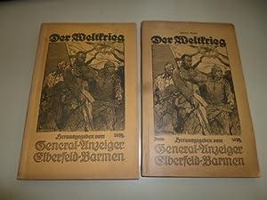 Der Weltkrieg 1914-1915. - Band 1: Die Tagesberichte der Obersten Heeresleitung von August 1914 bis...