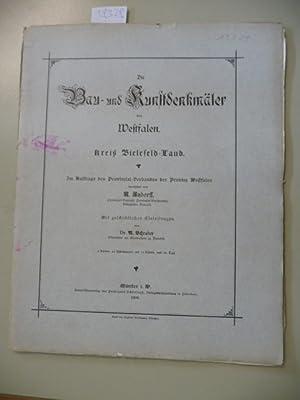 Die Bau- und Kunstdenkmäler des Kreises Bielefeld-Land.: Ludorff, A