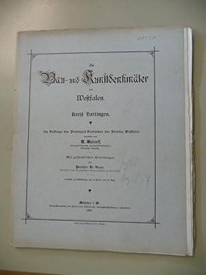 Die Bau- und Kunstdenkmäler des Kreises Hattingen.: Ludorff, A.,