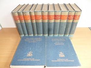 Handbuch Der Geographischen Wissenschaften (13 BÜCHER): Klute, Dr. Fritz (Hg.)