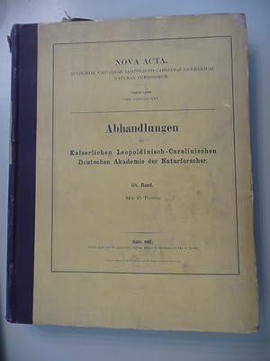 Noca Acta - Monographie der Myristicaceen.: Warburg, O.