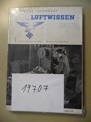 Deutsche Luftwacht - Ausgabe Luftwissen. Zeitschrift für Luftfahrttechnik und -forschung. - ...