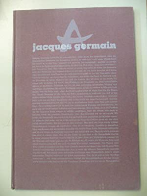 geh durch den spiegel, Folge 16/1958, Jacques Germain. Katalog zu den Ausstellungen der ...