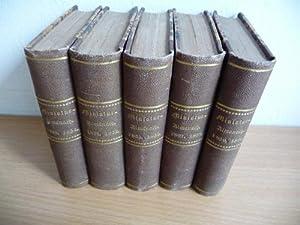 Payne?s Miniatur-Almanach für 1851-1860. - 7.-16. Jahrgang (5 BÜCHER): Payne (Hg.)