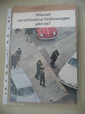 Wieviel verschiedene Volkswagen gibt es ?: Diverse