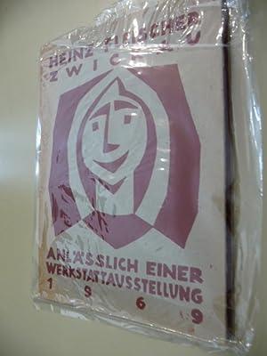 Anläßlich einer Werkstattausstellung 1969: Fleischer, H.