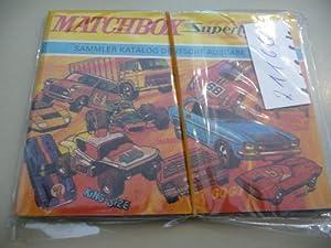 Matchbox - Sammlerkatalog, Deutsche Ausgabe 1970 / 1971.: Diverse