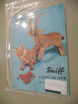 KAD 63 - Steiff Knopf im Ohr, Die lebensechten Plüschtiere: Diverse