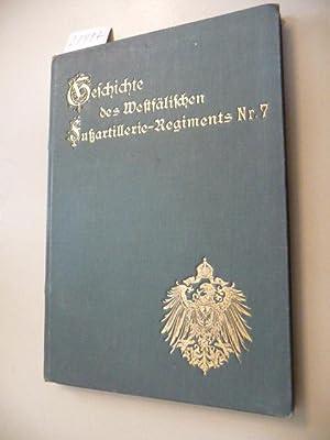 Geschichte des Westfälischen Fußartillerie-Regiments Nr.7 - Auf dienstliche Veranlassung...