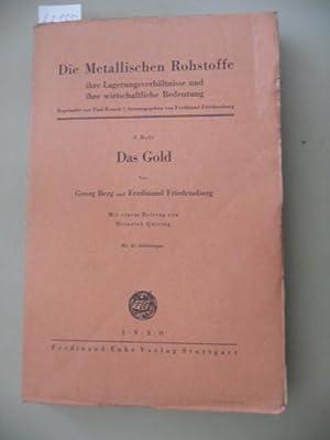 Gold.: Berg, Georg und Ferdinand Friedensburg