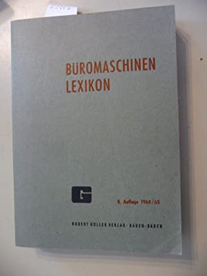 Büromaschinen Lexikon (Büromaschinenlexikon): Greiner, Paul