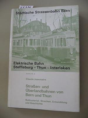 Straßen- und Überlandbahnen 1von Bern und Thun: Jeanmaire, Claude