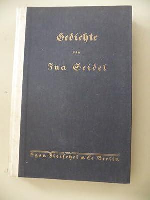 Gedichte: Seidel, Ina