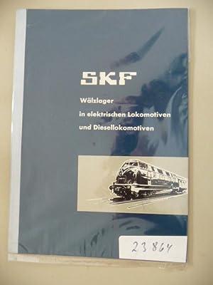 SKF Wälzlager in elektrischen Lokomotiven und Diesellokomotiven: Pöhlmann, Adam