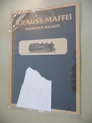 Krauss-Maffei München-Allach - (Jubiläumsschrift zum 100jährigen Bestehen): ANONYM