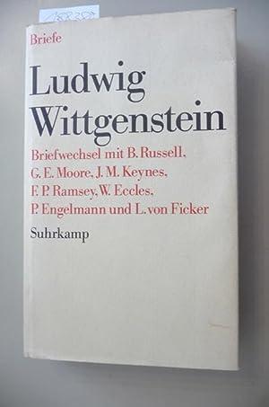Ludwig Wittgenstein, Briefwechsel mit B. Russell, G.: Wittgenstein, Ludwig ;