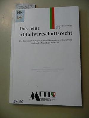 Das neue Abfallwirtschaftsrecht : ein Beitrag zur: Salzwedel, Jürgen [Hrsg.]