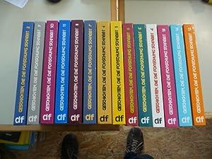 Geschichten, die die Forschung schreibt. Ein Lesebuch - Konvolut: Bde. 1-14 (14 BÜCHER): Peu�,...