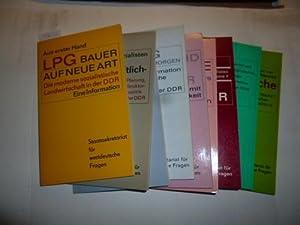 Aus erster Hand: LPG Bauer auf neue Art. Die moderne sozialistische Landwirtschaft in der DDR.&#x27...