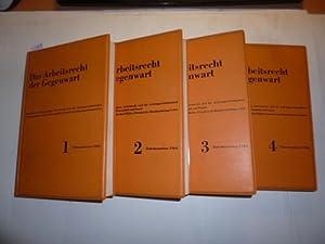 Das Arbeitsrecht der Gegenwart. Jahrbuch für das gesamte Arbeitsrecht und die ...