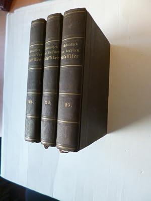 Bibliothek der Deutschen Klassiker. Mit literargeschichtlichen Einleitungen, Biographien und Portr&...