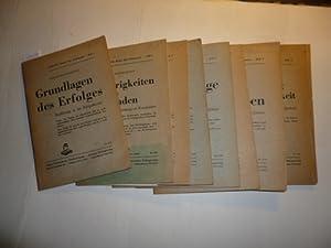 Erfolgreiche Berufs- und Lebenspraxis - Konvolut Heft 1 bis Heft 5 + Heft 7+8 + Heft 10+11 (9 Hefte...
