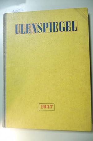 Ulenspiegel., Literatur - Kunst - Satire : Jahrgang 2 - 1947 - Heft 1 bis 26 komplett: Sandberg, ...