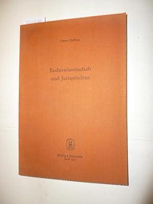 Rechtswissenschaft und Jurisprudenz: Ballweg, Ottmar