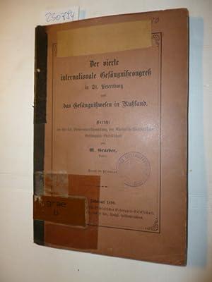 Der vierte internationale Gefängniscongreß in St. Petersburg und das Gefängniswesen...