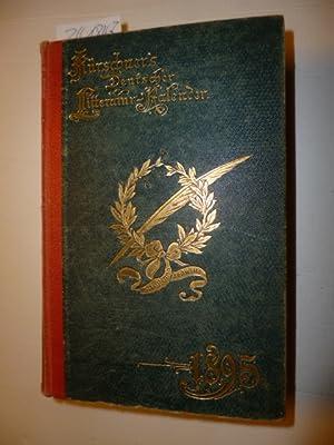Deutscher Litteratur Kalender auf das Jahr 1895. (17. Jahrgang).: Kürschner, Joseph (Hrsg.)