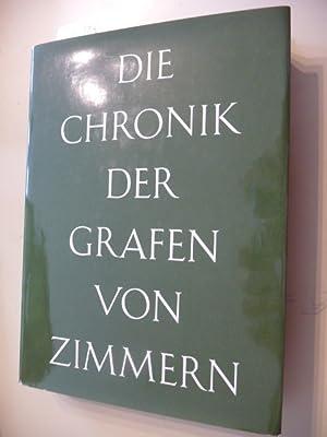 Die Chronik der Grafen von Zimmern: Handschriften 580 und 581 der Fürstlich Fü...