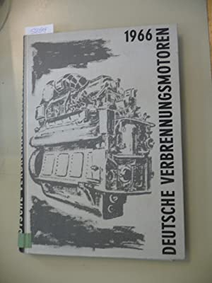Deutsche Verbrennungsmotoren. German internal combustion engines. Moteurs a combustion interne ...