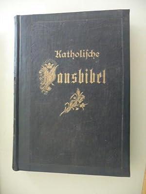 Katholische Hausbibel - (Große Pracht-Ausgabe) - Erster Band: Altes Testament - erste Hä...